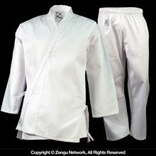 8.5 oz. White Middleweight Karate Uniform